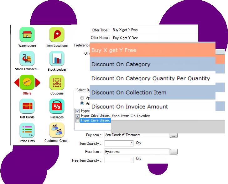 Sales Handling POS System