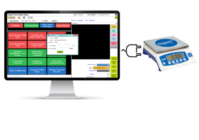 Bakery Billing Software with Weighing Scale Intergration
