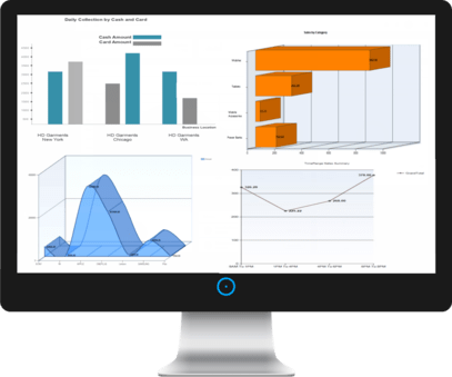 Graphical reports for quicker and best management of your Business
