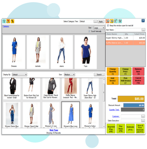Clothing and Apparel Store POS System