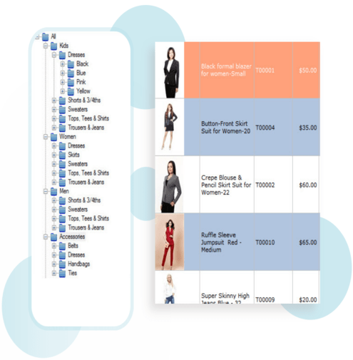 Software for Clothing Store with Inventory Management