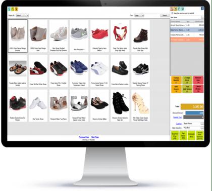 Best Footwear store billing software
