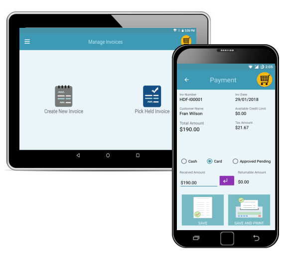 Billing and inventory management POS for Garment Stores