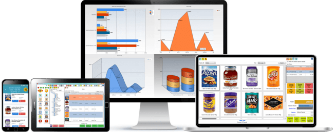 Super market retail pos software multi terminal support